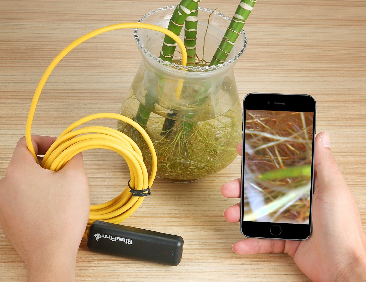 BlueFire Semi-Rigid Flexible Wireless Endoscope camera
