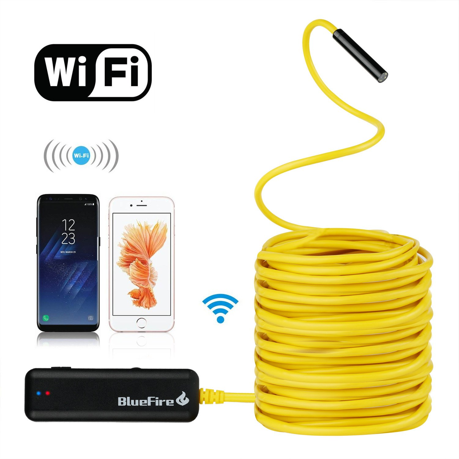 BlueFire Semi-Rigid Flexible Wireless Endoscope