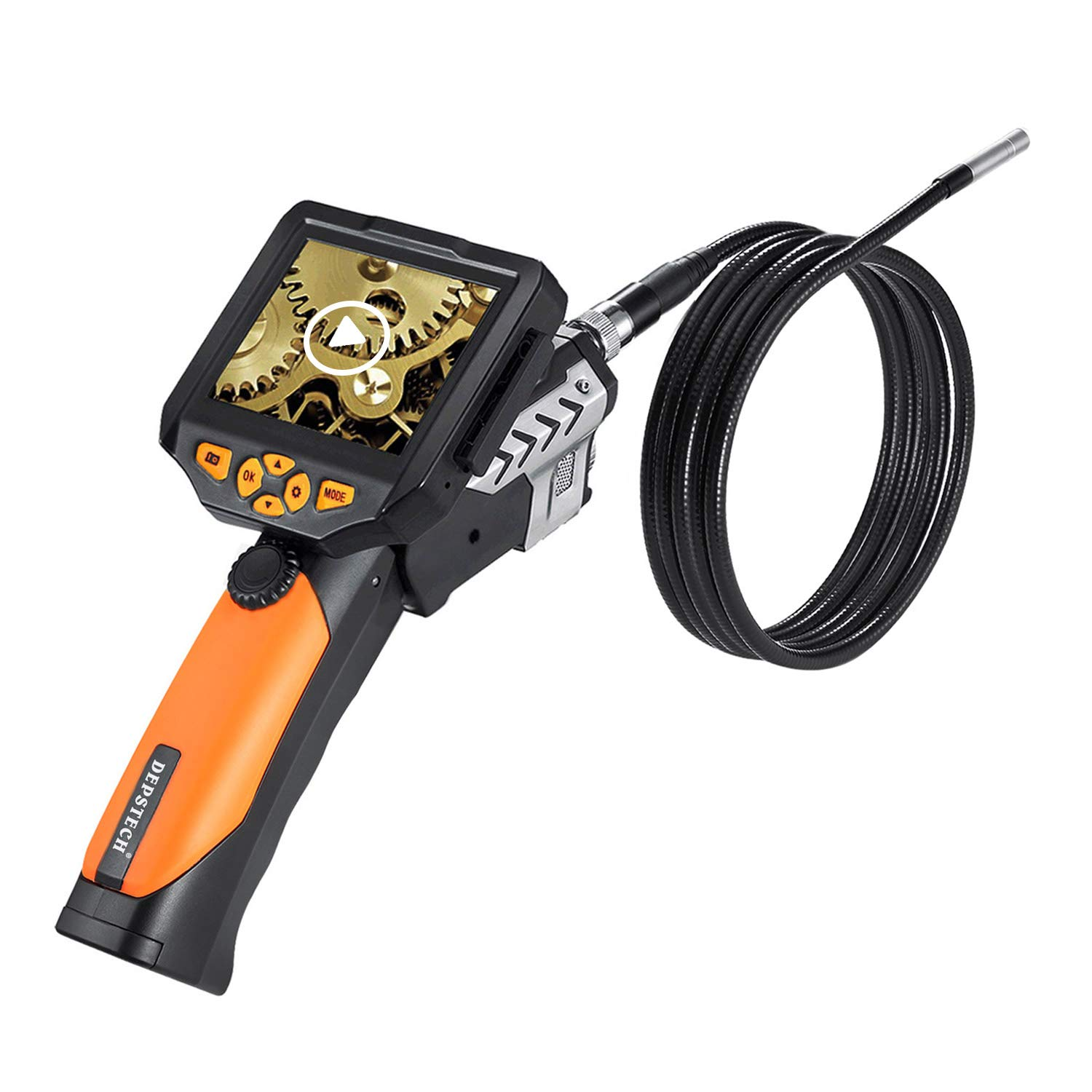DEPSTECH 10 FT Waterproof LCD Borescope