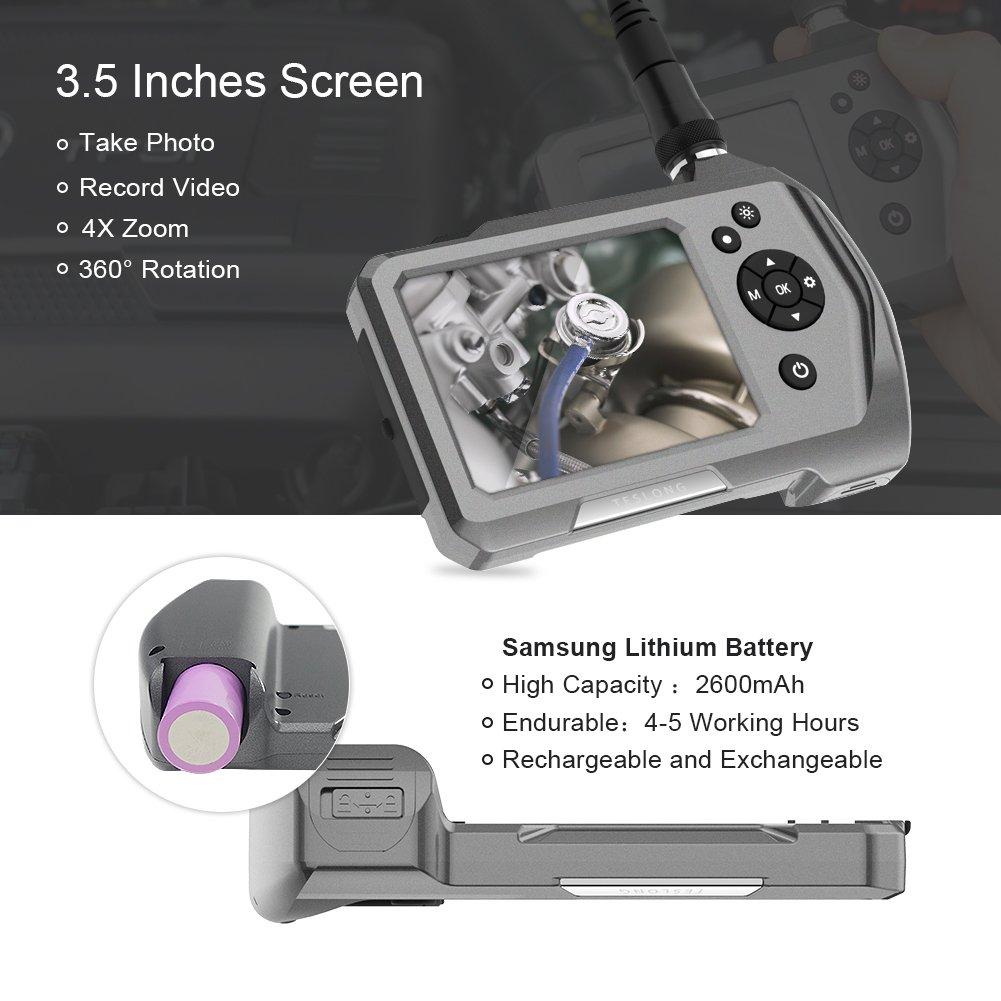 Teslong Ultra Slim Borescope battery