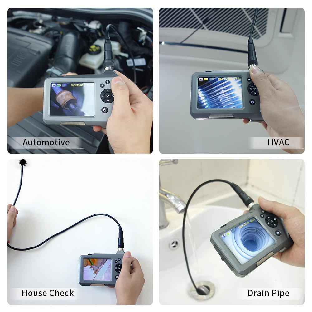 Teslong Ultra Slim Borescope uses