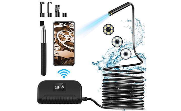 Crowndy Wireless Borescope
